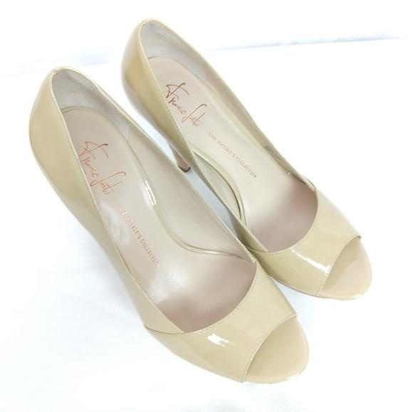 Jimmy Choo Shoes   Jimmy Choo Sz 4 Patent Leather Peep Toe